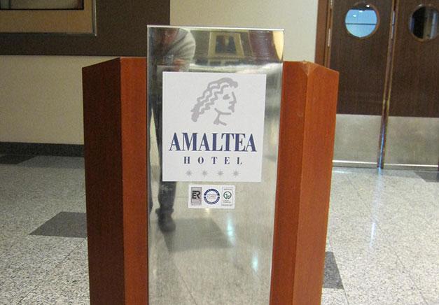 Atril para Hotel amaltea