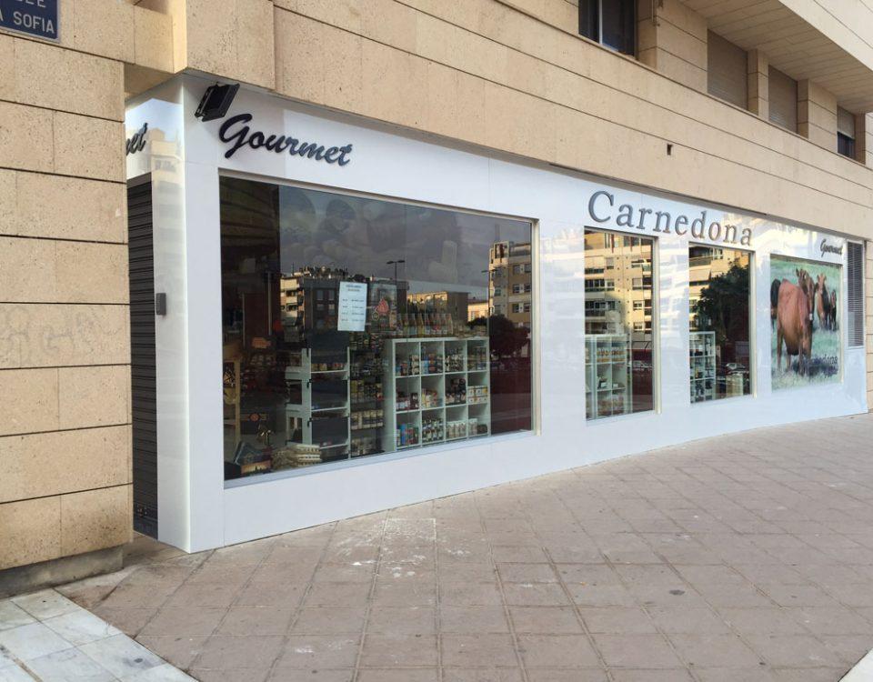 fachadas en composite y rotulación en Murcia - Rótulos y fachadas Art Design