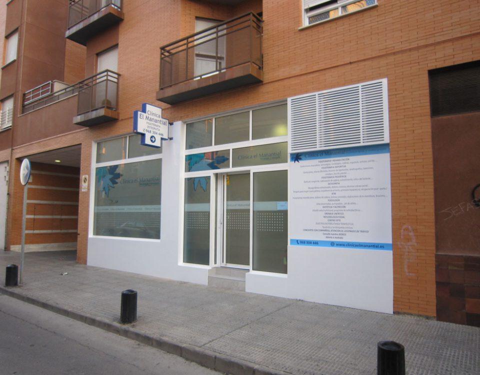Diseño para fachadas de comercios en Murcia - Rótulos y fachadas Art Design