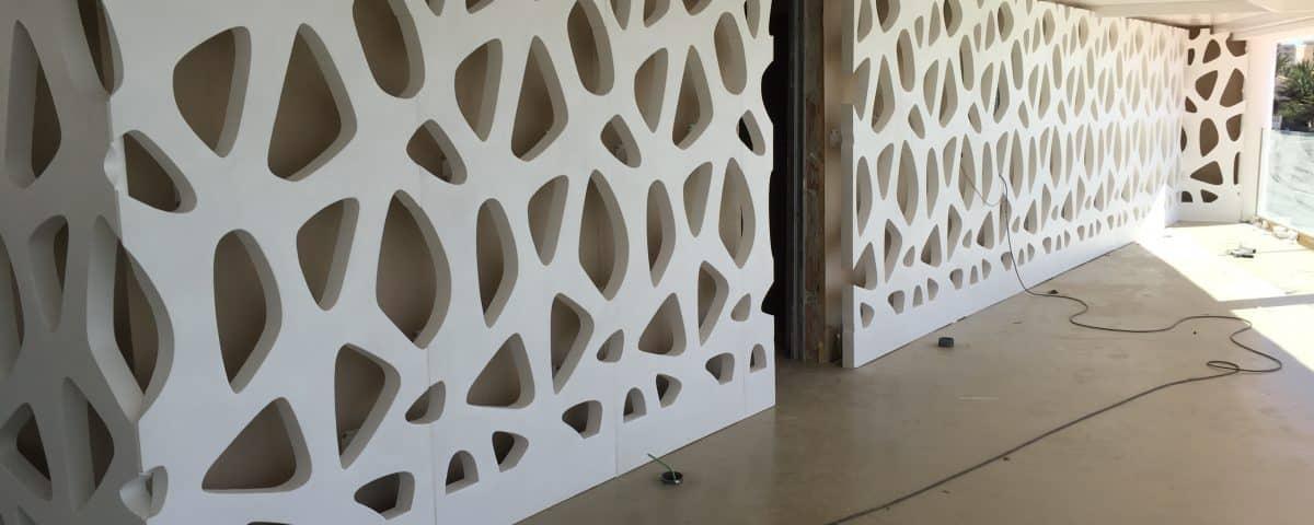Diseño de fachadas decorativas - Rótulos y fachadas Art Design