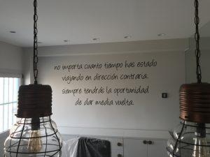 Frases y dichos como vinilo decorativo para paredes