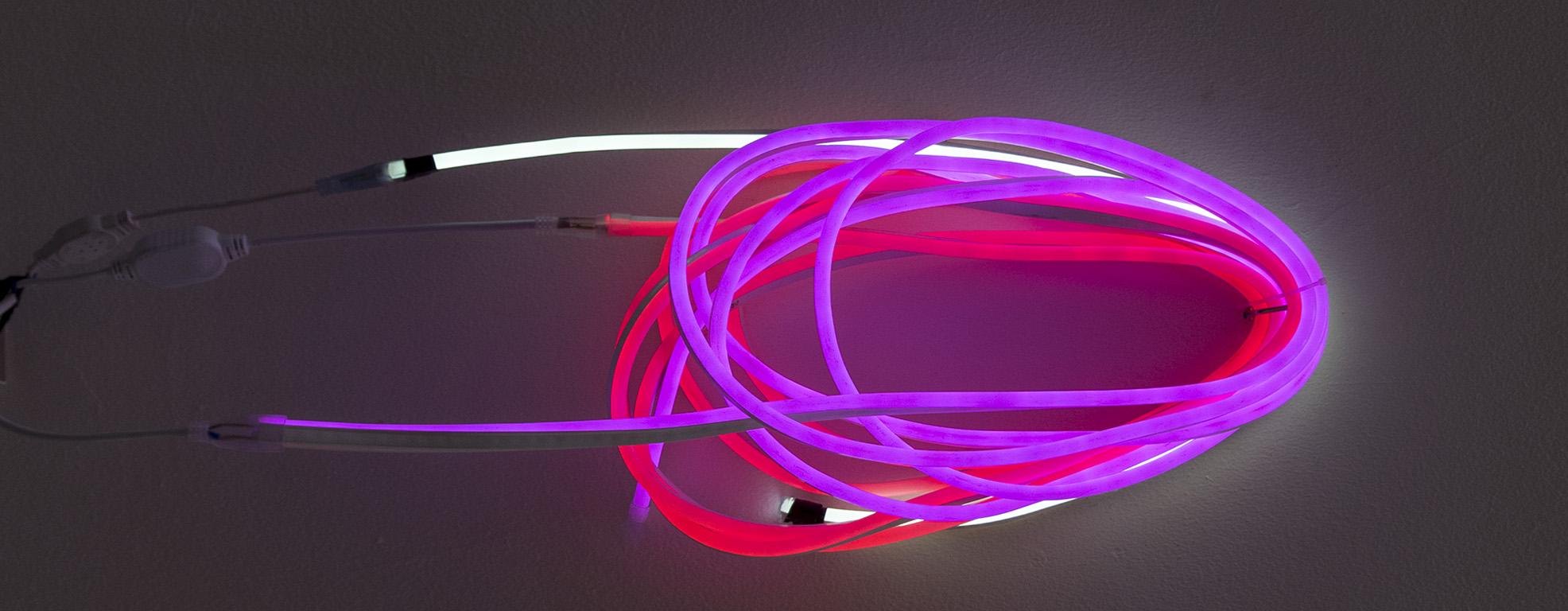 Iluminación con leds.