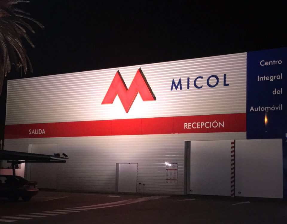 MICOL - Fachada - Rótulos Art Design