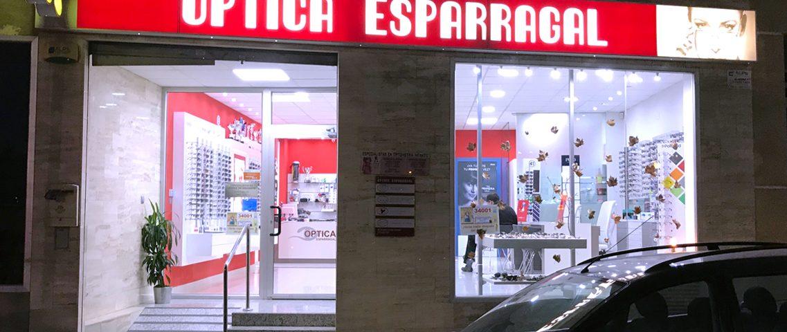 Óptica Esparragal - Rótulo Plafón - Rótulos Art Design