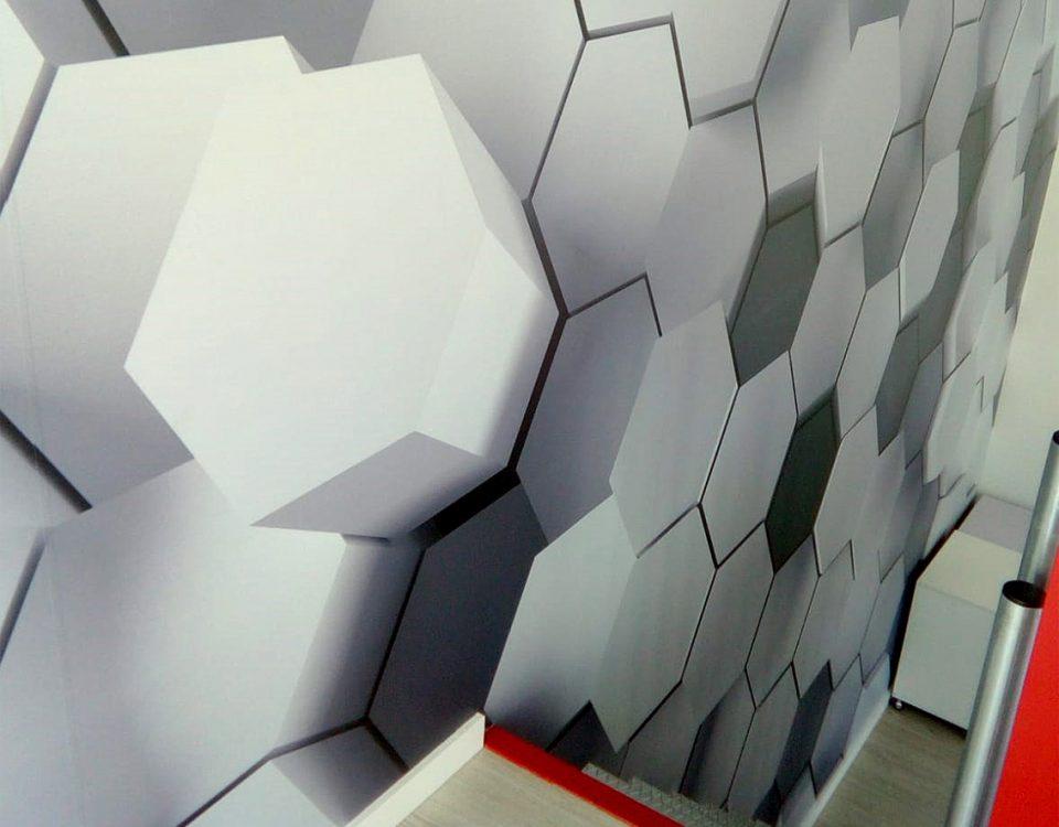 Vinilo decorativo 3D, para Cortyple - Rótulos Art Design