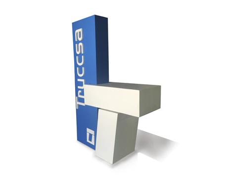 Stand realizado en corcho para Truccsa por rótulos Art design.