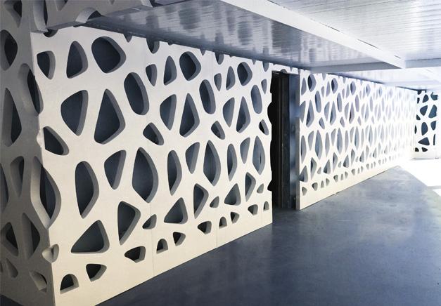 diseño de fachadas en composite - Rótulos y fachadas Art Design