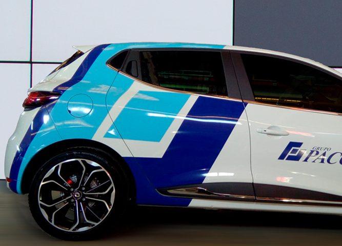 Rotulación de vehículo comercial con imagen corporativa - Rótulos Art Design