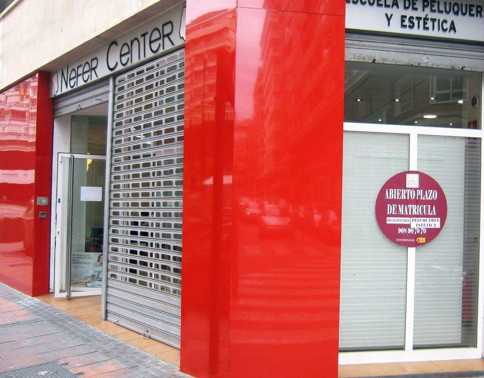 Panel sandwich Composite en fachada - Rótulos Art Design