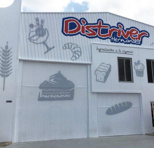 Rótulos Pintados a mano sobre fachada, Rótulos Art Design