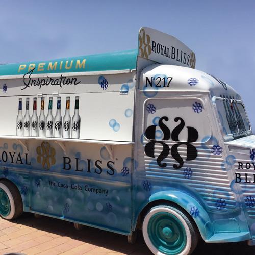 Rotulación Pintada a mano en Food Truck, Rótulos Art Design.