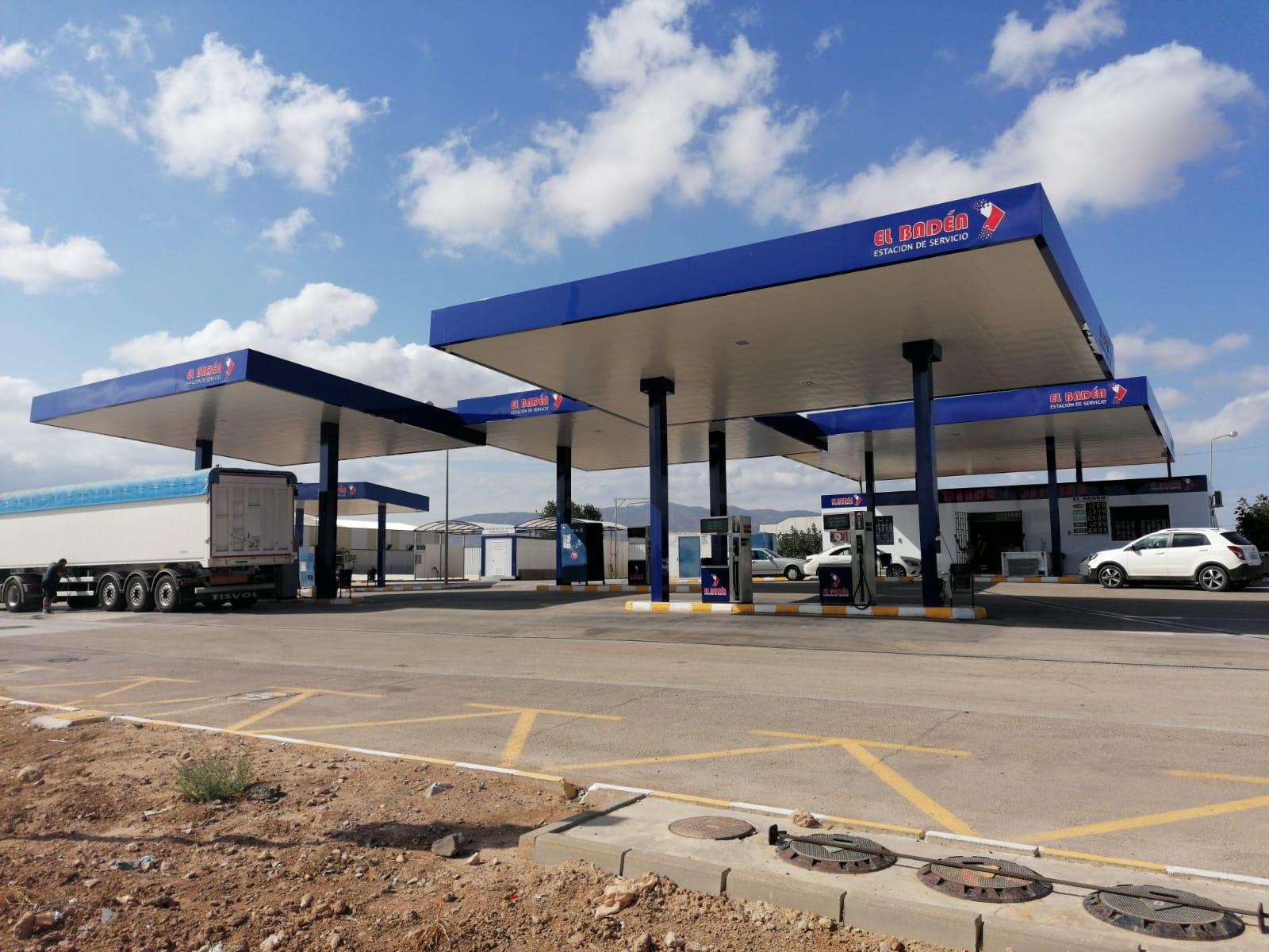 Rotulación Gasolineras - Estación de Servicio El Baden
