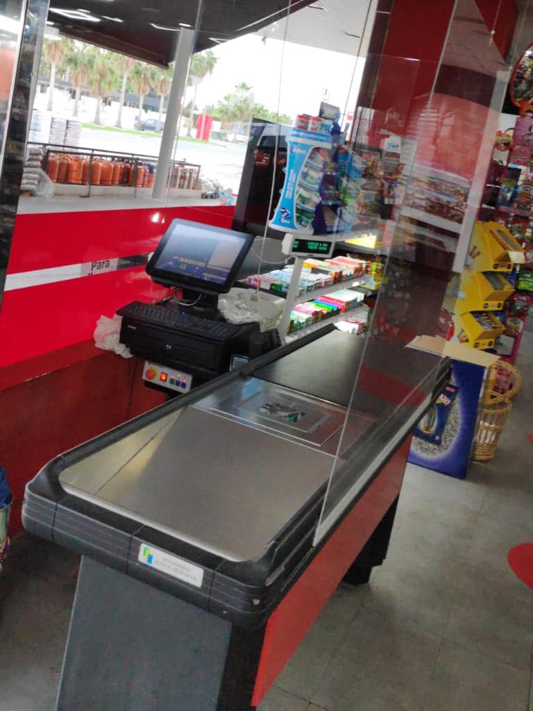 mamaparas protectoras covid19 supermercados