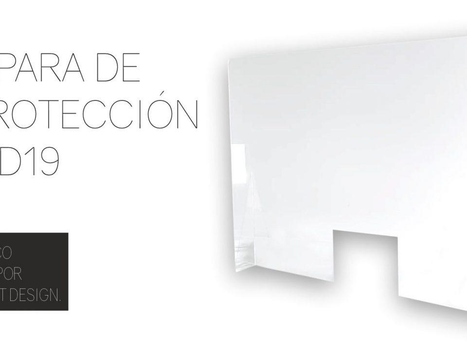 mampara protectora mostrador en Murcia - Rótulos Art Design