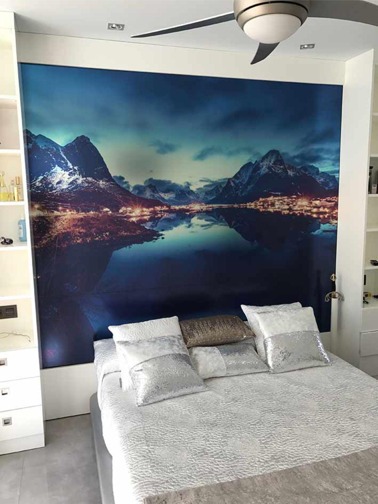 Vinilo paisaje para pared de habitación Rótulos Art Design