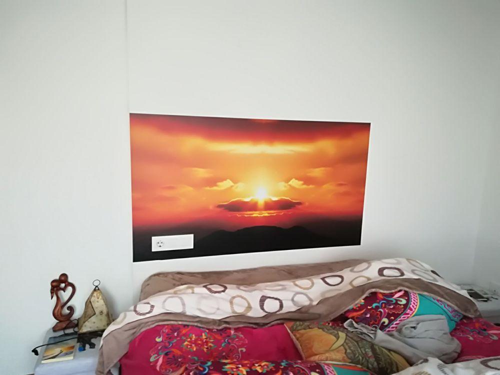 Vinilo decorción dormitorio Rótulos Art Design