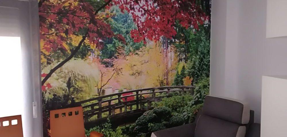 Vinilo Naturaleza decorativo para salón Rótulos Art Design