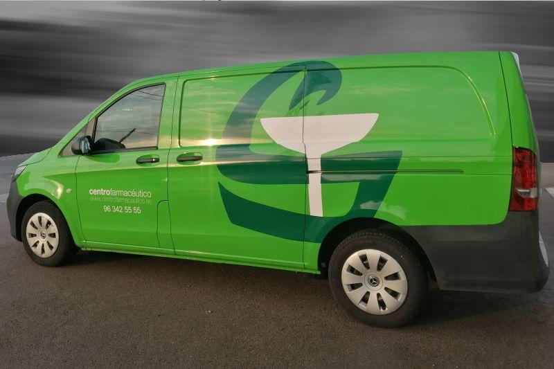 rotular furgoneta con imagen corporativo en murcia