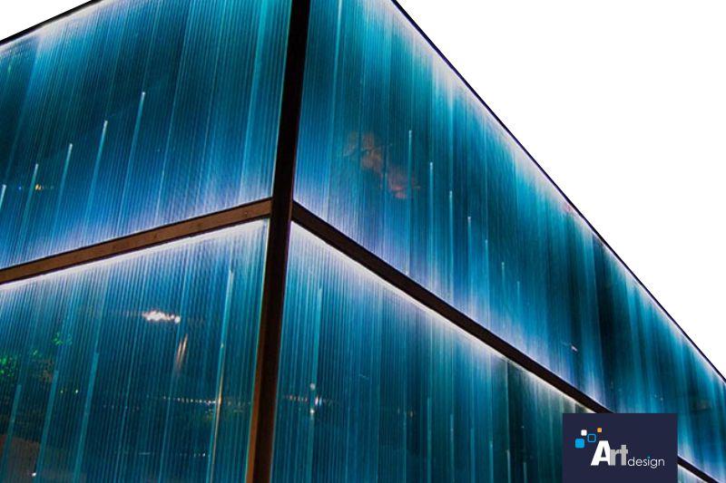 Decoración de fachadas con iluminación led neón flex en Murcia