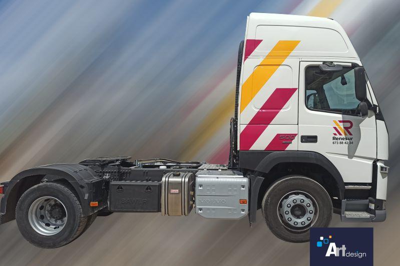 rotulación de camiones rótulos luminosos Art Design