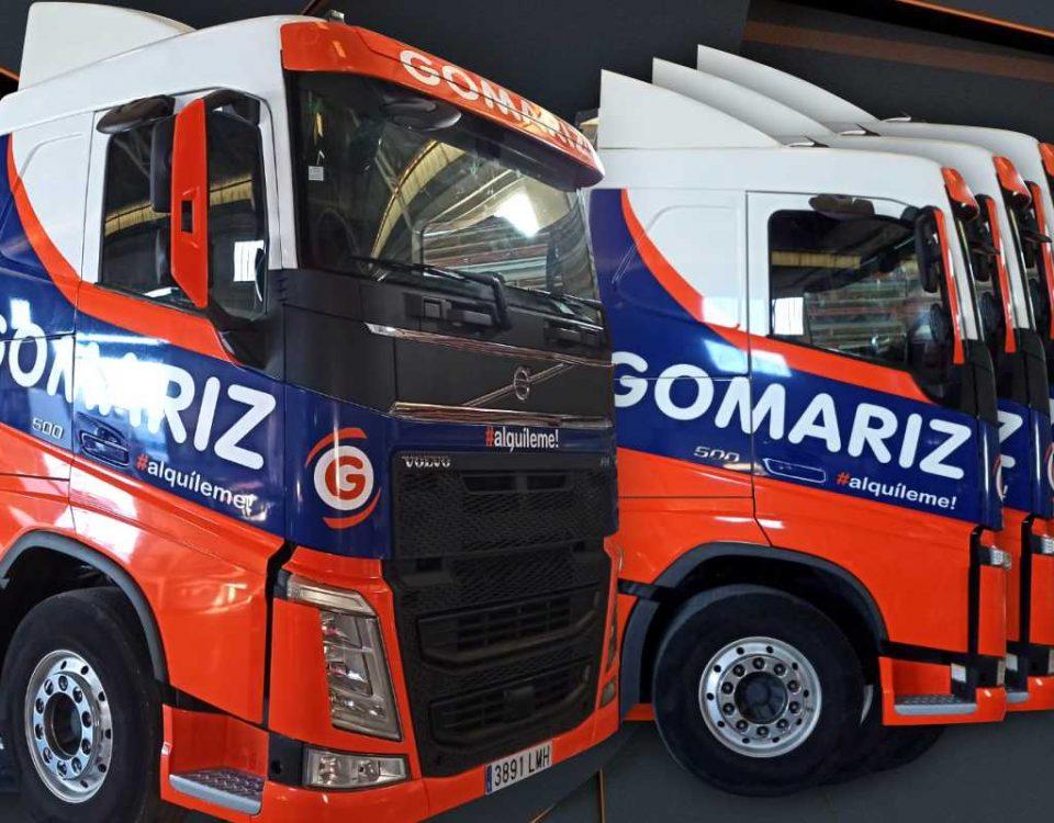 Rotulación de camiones vinilo fundición rótulos luminosos art design