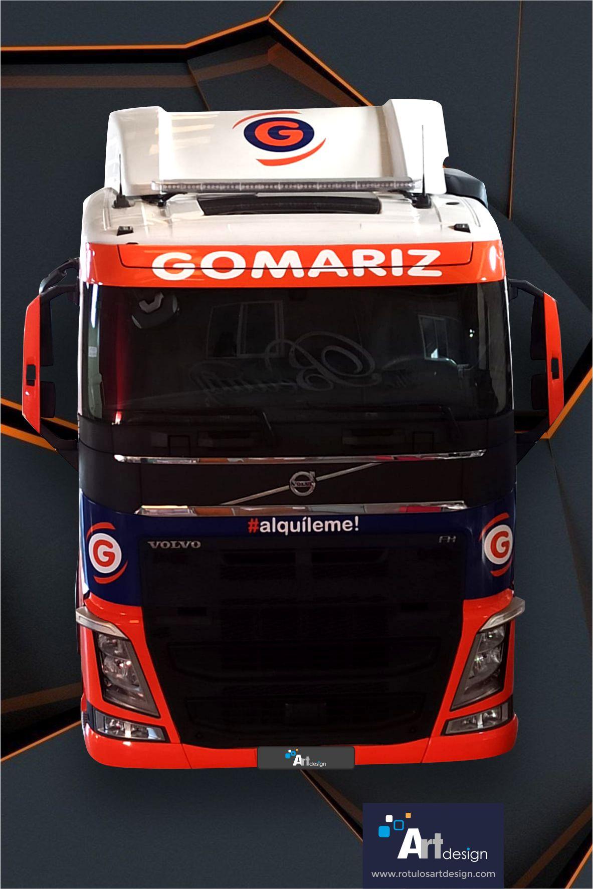 Rotulación de camión para Gomariz