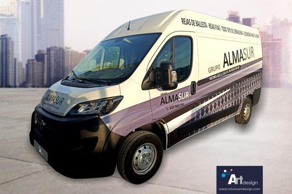 Rotulación de furgonetas rótulos luminosos art design